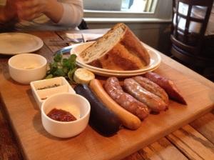 Corrr Sausage Board