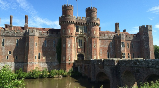 Clearing out the Cobwebs at Herstmonceux Castle