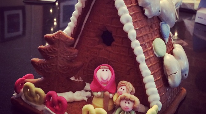The Gingerbread House that Andy Built